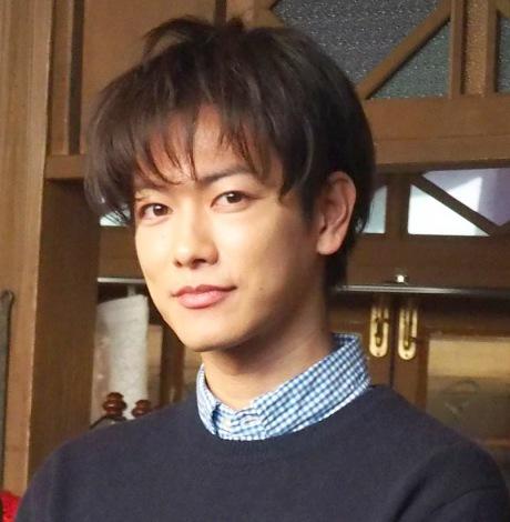 NHK連続テレビ小説『半分、青い。』のスタジオ取材会に出席した佐藤健 (C)ORICON NewS inc.