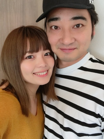 サムネイル 結婚を発表したジャングルポケット・斉藤慎二(右)と瀬戸サオリ(写真は瀬戸のブログより)