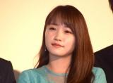 映画『嘘を愛する女』の公開初日舞台あいさつに登壇した川栄李奈 (C)ORICON NewS inc.