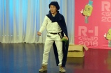 『R-1ぐらんぷり2018』大阪2回戦に出場したカンテレの服部優陽アナウンサー(C)カンテレ