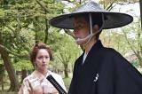 『眠狂四郎 The Final』に出演する(左から)吉岡里帆・田村正和(C)フジテレビ