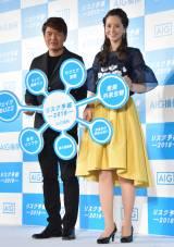 (左から)ヒロミ、春香クリスティーン (C)ORICON NewS inc.
