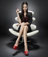 4月期土曜ドラマ『Missデビル 人事の悪魔・椿眞子』で主演を務める菜々緒(C)日本テレビ