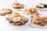 ステーキハウス「ウルフギャング」 高級肉を使ったランチ限定・期間限定の6種バーガー登場