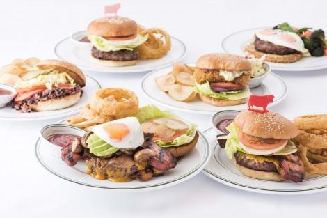 サムネイル 「ウルフギャング・ステーキハウス」2月1日から期間限定で6種ハンバーガー販売 (C)oricon ME inc.