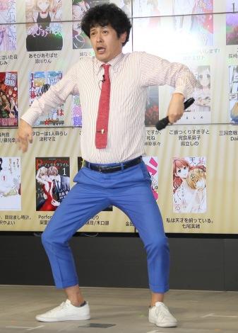 「みんなが選ぶ!!電子コミック大賞2018」授賞式に出席した流れ星・ちゅうえい (C)ORICON NewS inc.