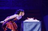 千秋楽に38歳の誕生日を迎えた水樹奈々(写真:上飯坂一)