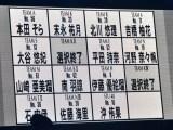 2巡目結果=『第3回AKB48グループドラフト会議』 (C)ORICON NewS inc.