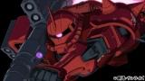 赤いモビルスーツ「ザクII」(C)創通・サンライズ