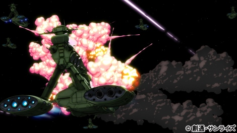 『機動戦士ガンダム THE ORIGIN VI 誕生 赤い彗星』5月5日より全国35館にて劇場上映(C)創通・サンライズ