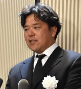 野村沙知代さんの息子・野村克則氏 (C)ORICON NewS inc.