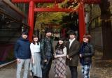 メインキャスト集合写真(C)2018 友麻碧・Laruha/KADOKAWA/「かくりよの宿飯」製作委員会