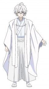 白夜のキャラクターデザイン(C)2018 友麻碧・Laruha/KADOKAWA/「かくりよの宿飯」製作委員会