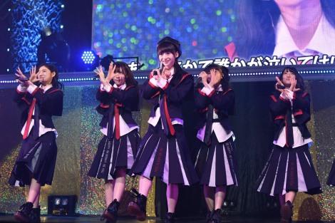 『NGT48 単独コンサート〜未来はどこまで青空なのか?〜』より(C)AKS