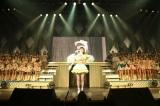 『AKB48グループリクエストアワー セットリストベスト100 2018 100』でNMB48卒業を発表した市川美織=『AKB48グループリクエストアワー セットリストベスト100 2018 100』(C)AKS