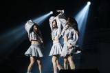 アンコール「Mystery Line」(松井珠理奈/白間美瑠/田野優花)=『AKB48グループリクエストアワー セットリストベスト100 2018 100』(C)AKS