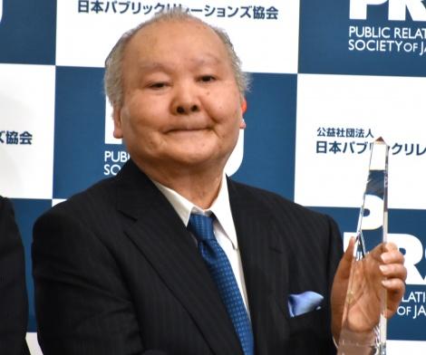 13分間スピーチした加藤一二三九段=『日本PR大賞 パーソン・オブ・ザ・イヤー』 (C)ORICON NewS inc.