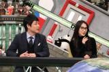 フジテレビ系バラエティー『全力!脱力タイムズ』26日放送のゲスト(左から)麒麟の川島明、知英 (C)フジテレビ