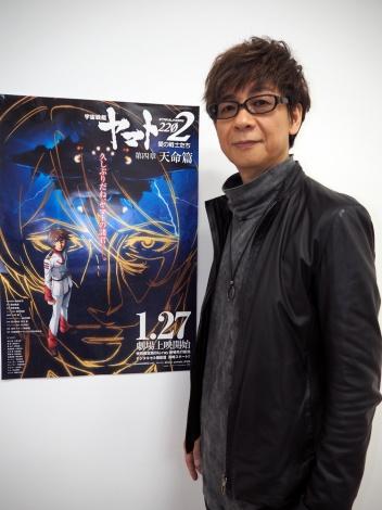 1月27日より期間限定劇場上映されるアニメ『宇宙戦艦ヤマト2202 愛の戦士たち』第四章 天命篇より登場するデスラーの声優・山寺宏一 (C)ORICON NewS inc.
