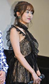 映画『二度めの夏、二度と会えない君』初日舞台あいさつに出席した加藤玲奈 (C)ORICON NewS inc.