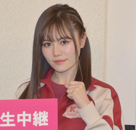シャーク込山(AKB48・込山榛香)=『豆腐プロレスThe REAL 2018 WIP QUEENDOM in 愛知県体育館』開催取材会 (C)ORICON NewS inc.