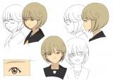 桂正和氏のキャラクター原案をもとにシグナル・エムディのスタッフがデザインしたアニメーション用のキャラクター設定(C)『電影少女2018』製作委員会