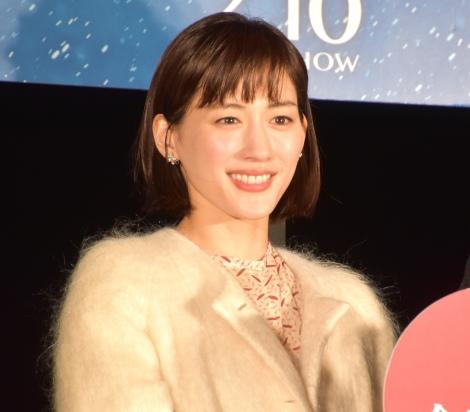 映画『今夜、ロマンス劇場で』バレンタイン点灯式に出席した綾瀬はるか (C)ORICON NewS inc.