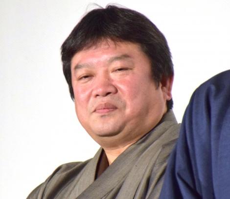 映画『曇天に笑う』の完成披露舞台あいさつに参加した本広克行監督 (C)ORICON NewS inc.
