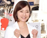 『東京2020オフィシャルショップ』のオープン記念イベントに出席した八木沼純子 (C)ORICON NewS inc.