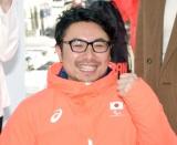 『東京2020オフィシャルショップ』のオープン記念イベントに出席した上原大祐選手 (C)ORICON NewS inc.