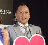 都内で行われたグンゼ株式会社のレッグウェアブランド『SABRINA』のリニューアルイベントに参加したバイきんぐ・西村瑞樹 (C)ORICON NewS inc.