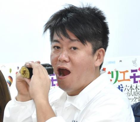主催イベントの苦しい事情を明かした堀江貴文氏=『ホリエモン万博』に関するメディア発表会 (C)ORICON NewS inc.