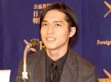 結婚質問に照れ笑いを浮かべた関ジャニ∞・錦戸亮(C)ORICON NewS inc.