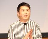 都内で行われたプレイステーション4用ゲーム『真・三國無双8』(2月8日発売)の完成発表会に出席したギンナナ・金成公信 (C)ORICON NewS inc.