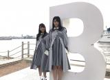 瀬戸内全県でデビュー曲のプロモーションを行ったSTU48(写真は兵庫県を訪れた瀧野由美子と石田みなみ) (C)STU