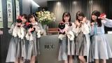 広島=デビューシングル「暗闇」発売日に瀬戸内全県で同時プロモーションを行ったSTU48 (C)STU