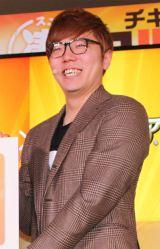 """日本マクドナルドの『""""凄""""「チキンタツタ」、""""凄""""「チキンタルタ」発表会』に出席した人気YouTuber・HIKAKIN (C)oricon ME inc."""