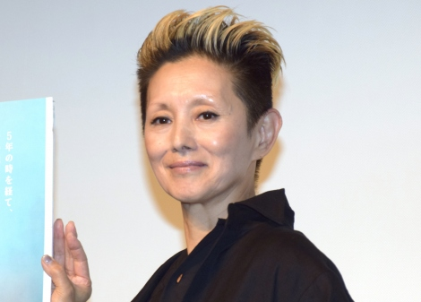 映画『生きる街』の完成披露舞台あいさつに登壇した夏木マリ(C)ORICON NewS inc.