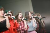 (左から)宮崎美穂・山内鈴蘭・石田安奈・永島聖羅。2017年12月開催『ホリNS木曜祭2017』2月3日、CSテレ朝チャンネル1で放送