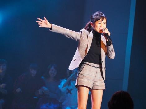 小島瑠璃子。2017年12月開催『ホリNS木曜祭2017』2月3日、CSテレ朝チャンネル1で放送
