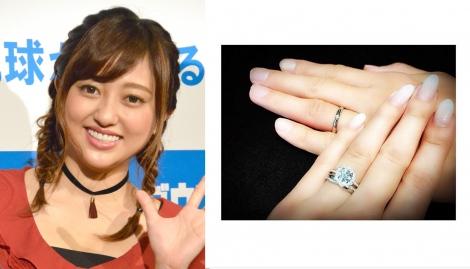 サムネイル 菊地亜美がインスタグラムで婚約&結婚指輪披露 (C)ORICON NewS inc.