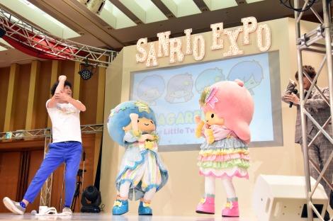 キキララも一緒にひじ祭り=新商品展示会『SANRIO EXPO2018』 (C)ORICON NewS inc.
