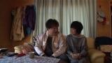 夫・桑山哲也も薪ストーブのある家に大興奮(C)テレビ朝日