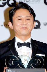『GQ MEN of the Year 2012』授賞記者会見に出席した有吉弘行 (C)ORICON DD inc.