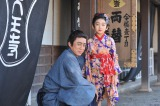 父・市川染五郎譲りの美形ぶりの披露する松本金太郎。女の子の姿をしている理由は…NHK・BS時代劇『妻は、くノ一』第5回(5月3日放送)で(C)NHK