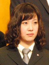 『第49回ビッグスポーツ賞』表彰式に出席した競泳・渡部香生子選手 (C)ORICON NewS inc.