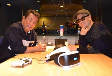 ゲームについて熱く語った加山雄三(左)とライムスター宇多丸=TBSラジオ『ライムスター宇多丸とマイゲーム・マイライフ』インタビュー (C)ORICON NewS inc.