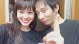 いしだ壱成(右)と飯村貴子