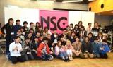 東京・神保町のNSC東京での特別授業の模様 (C)ORICON NewS inc.