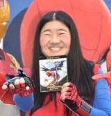 映画『スパイダーマン:ホームカミング』BD&DVD発売記念ケーブルカーバスお披露目式に出席したガンバレルーヤ・よしこ (C)ORICON NewS inc.
